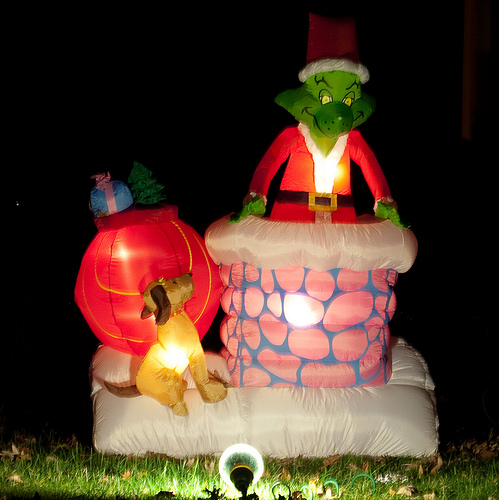 and the grinch riseth by finstre of flickr creative commons