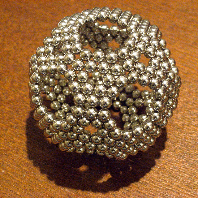 So this is what a radioactive buckyball from Fukushima might look like. Photo credit:  Soccer Ball by vitroid on flickr cc
